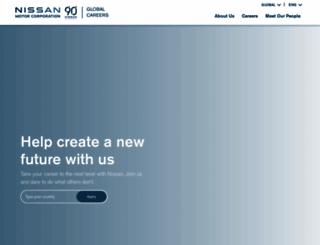 nissanmotor.jobs screenshot