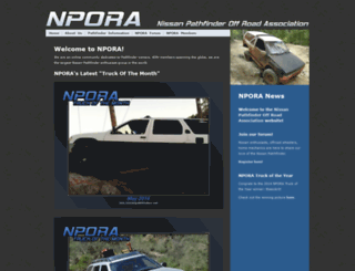 nissanpathfinders.net screenshot