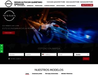 nissanqueretarozaragoza.com.mx screenshot