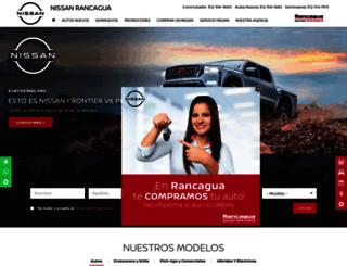 nissanrancagua.com.mx screenshot