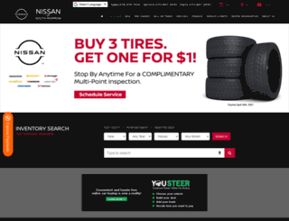 nissansouthmorrow.com screenshot
