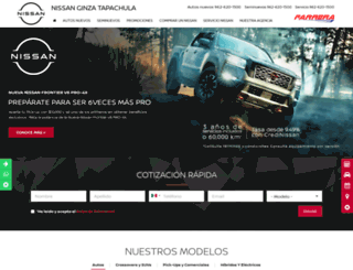 nissantapachula.com.mx screenshot