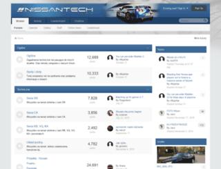 nissantech.pl screenshot