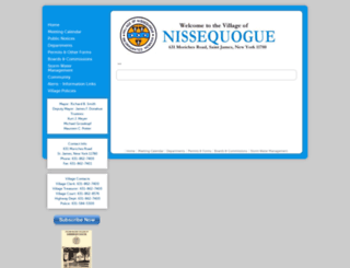 nissequogueny.gov screenshot