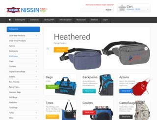 nissincap.com screenshot