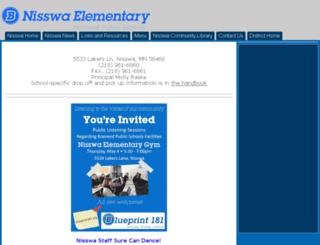 nisswa.isd181.org screenshot