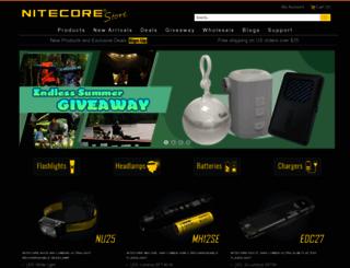 nitecorestore.com screenshot