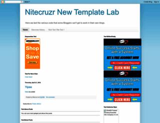 nitecruzrtestnew.blogspot.com screenshot