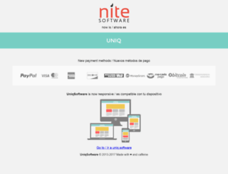 nitesoftware.net screenshot