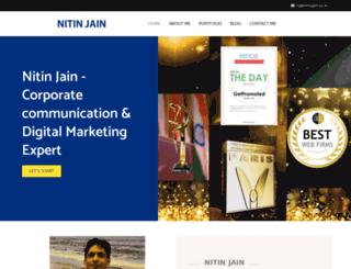 nitinjain.co.in screenshot