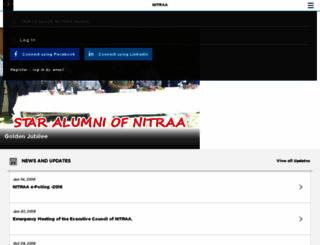 nitraa.org screenshot