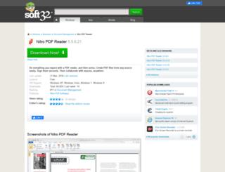 nitro-pdf-reader.soft32.com screenshot