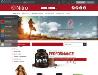 nitro.nop-templates.com screenshot