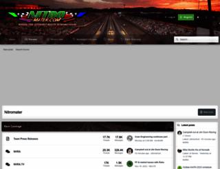 nitromater.com screenshot
