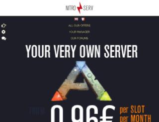 nitroserv.net screenshot