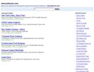 nitrousforum.com screenshot