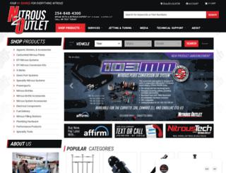nitrousoutlet.com screenshot