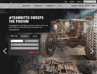 nitto-dealerportal.com screenshot