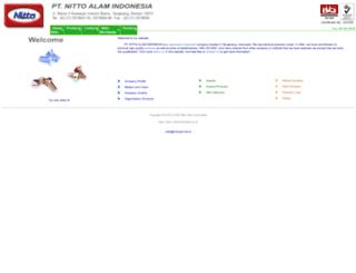 nittoindonesia.co.id screenshot