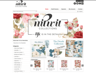 nitwitcollections.com screenshot