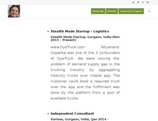 nityanandgopalika.com screenshot