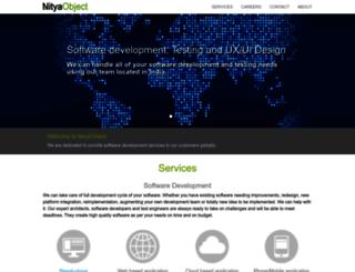 nityaobject.com screenshot