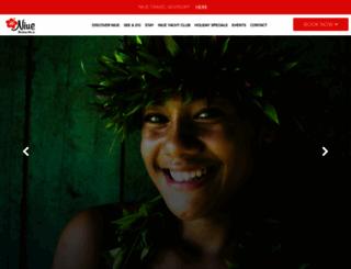 niueisland.com screenshot