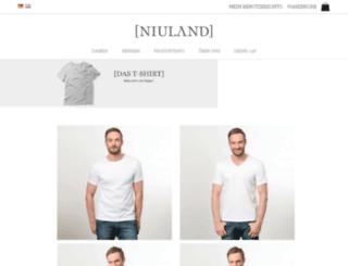niuland.de screenshot