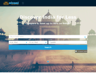 nivasi.in screenshot