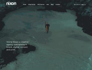 nixondesign.com screenshot