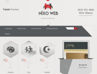 nixoweb.com screenshot