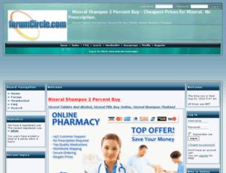 nizoral3765.forumcircle.com screenshot