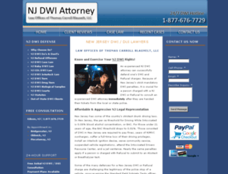 nj-dwi-attorneys.com screenshot