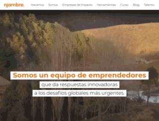 njambre.org screenshot