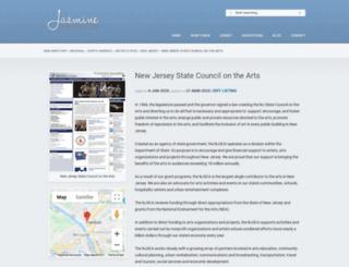njartscouncil.org screenshot