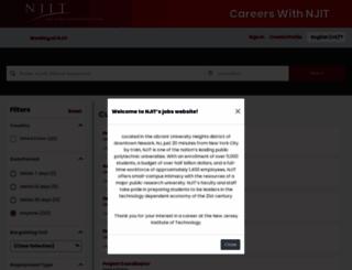 njit.jobs screenshot