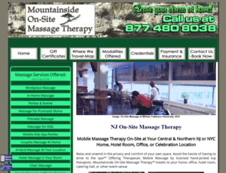 njmassage.info screenshot
