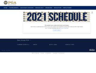 njpga.bluegolf.com screenshot
