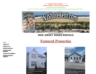 njshorerent.com screenshot