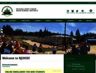 njuhsd.com screenshot