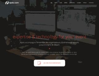 njuko.com screenshot