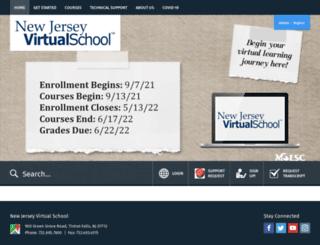 njvs.org screenshot