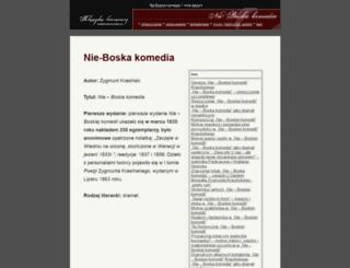 nk.ostatnidzwonek.pl screenshot