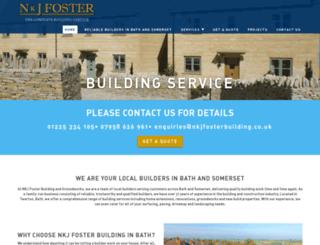 nkjfosterbuilding.co.uk screenshot