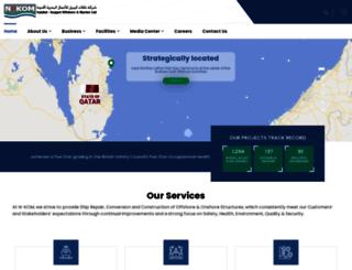 nkom.com.qa screenshot