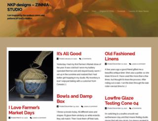 nkpdesigns.com screenshot