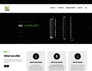nksupport.com screenshot