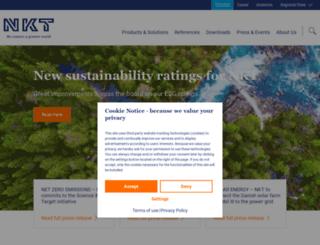 nktcables.com screenshot