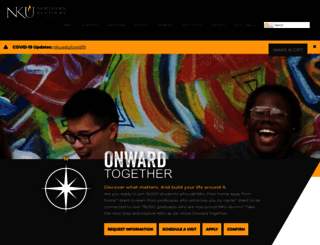 nku.edu screenshot