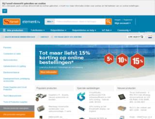 nl.farnell.com screenshot